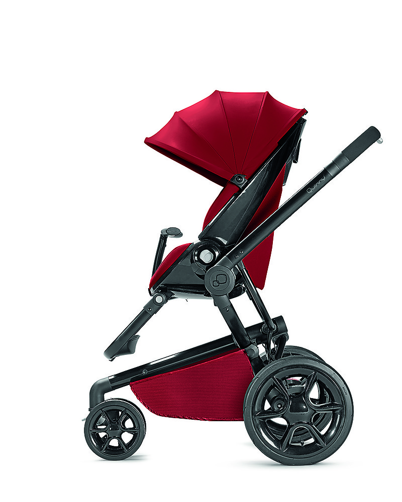 Quinny Moodd Stroller Red Rumour Unique Design Perfect As A 3