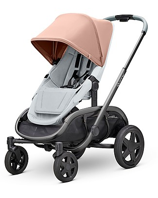Quinny Quinny Hubb Stroller, Cork/Grey - XXL Shopping Basket Pushchairs