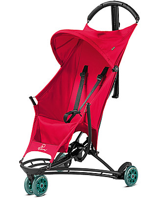 Quinny Yezz Stroller, Bold Berry - Ultra-light and Portable! Lights Strollers