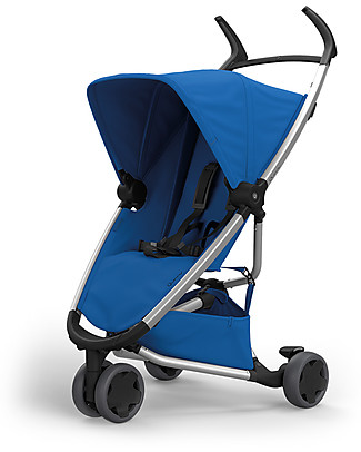 Quinny Zapp Xpress Stroller, All Blue - From 6 months to 3.5 years! Lights Strollers
