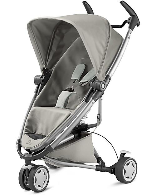 Quinny Zapp Xtra 2, Grey Gravel – 3 wheels ultra-compact stroller ...