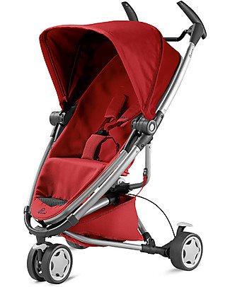 Quinny Zapp Xtra 2, Red Rumour – 3 wheels ultra-compact stroller! Travel Systems