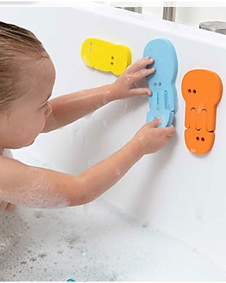 Quut Jellyfish Bath Puzzle - Funny and Eco-friendly Bath Toys