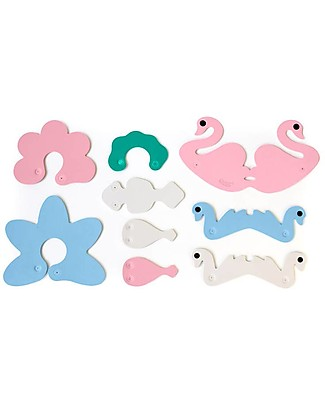 Quut Swan Lake - Build your own Bath Toys Bath Toys