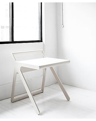 Rafa Kids K Desk Kids Desk - Whitewash- Finnish Birch Tables And Chairs
