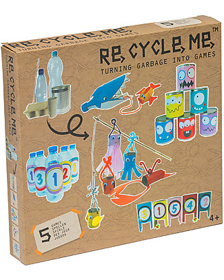 Re-Cycle-Me Sustainable Toy Set Turning Garbage into Games  Creative Toys