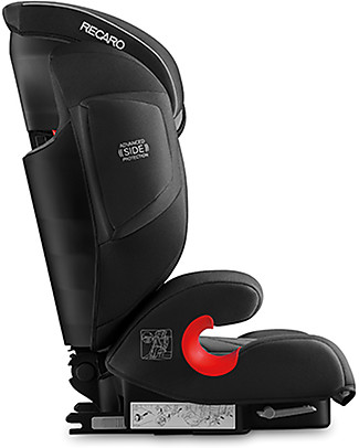 Recaro Monza Nova IS Seatfix Car Seat, Groups 1-2-3, (9-36 kg) - Carbon Black Car Seats
