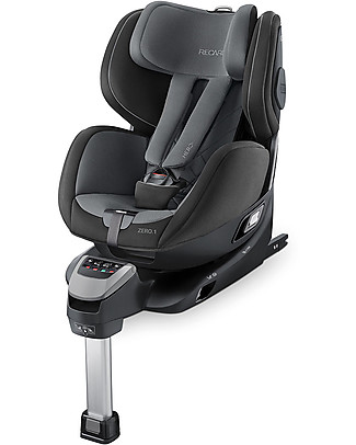 Recaro ZERO.1 I.Size Car Seat one-size 0-4 years - Turns 360° in one click! Carbon Black Car Seats