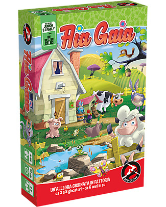 Red Glove Funny Farm Card Game Board Games