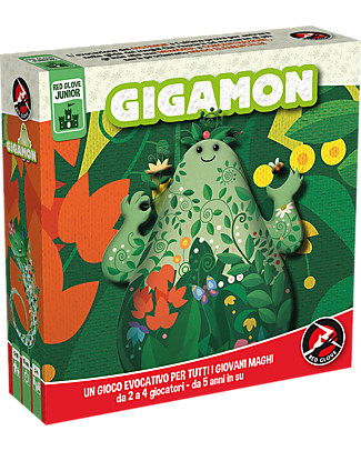 Red Glove Gigamon Game - Play with natural elements! Board Games