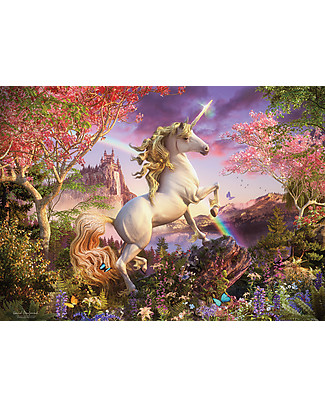 Red Glove Realm of the Unicorn Puzzle, 350 Pieces Memory Games