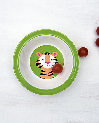 Rex London Baby Bowl, Tiger - Free from BPA, PVC, phthalates and lead! Egg Cups & Measuring Cups