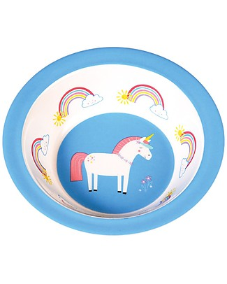 Rex London Baby Bowl, Unicorn - Free from BPA, PVC, phthalates and lead! Bowls & Plates