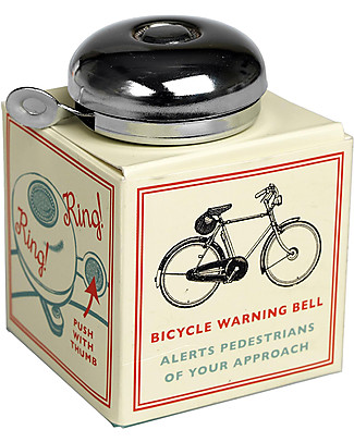 Rex London Bicycle Classic Bell, Silver Outdoor Games & Toys