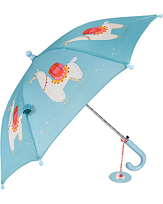 Rex London Children's Umbrella, Dolly Lama - Sturdy and Safe! Umbrellas