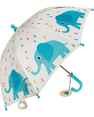 Rex London Children's Umbrella, Elvis the Elephant Umbrellas