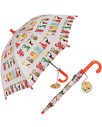 Rex London Children's Umbrella, Colourful Creatures  Umbrellas