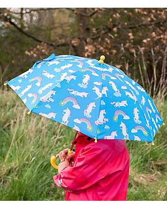 Rex London Children's Umbrella, Magical Unicorn - Sturdy and Safe! Umbrellas