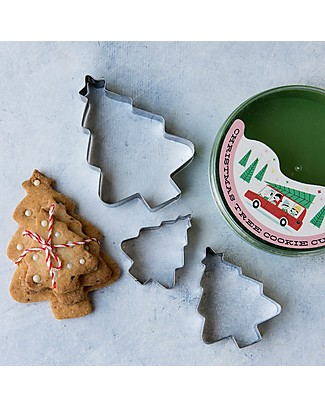 Rex London Christmas Set Cookie Cutters + Gift Box Christmas Decorations