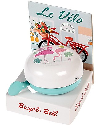 Rex London Flamingo Bay Bicycle Bell - Metal Bycicles