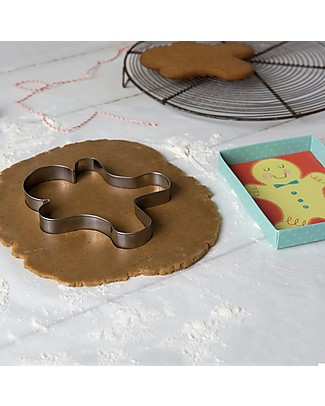 Rex London Home Baking Gingerbread Man Cutter Cake Decorations