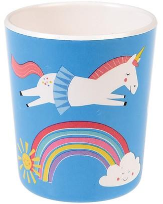 Rex London Kids Beaker, Unicorn - Free from BPA, PVC, phthalates and lead! Bowls & Plates