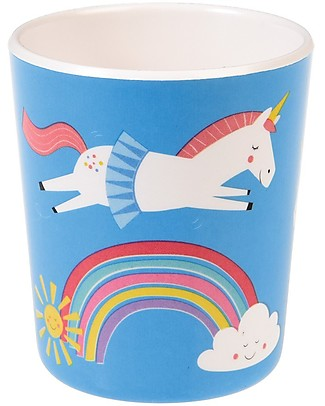 Rex London Kids Beaker, Unicorn - Free from BPA, PVC, phthalates and lead! Bowls & Plates