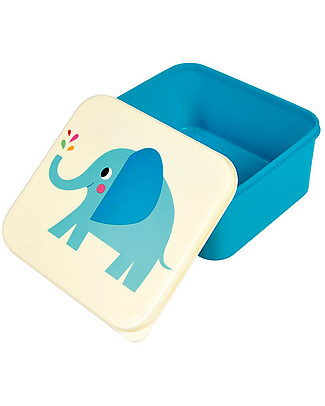 Rex London Lunch Box, Elvis the Elephant - BPA free! Lunch Boxes in Metal