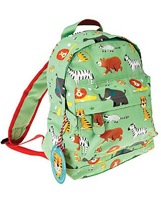 Rex London Mini Backpack 28 x 21 x 10 cm, Animal Park - Perfect for pre-schoolers! Small Backpacks