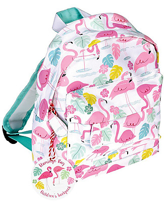 Rex London Mini Backpack 28 x 21 x 10 cm, Flamingo Bay - Perfect for pre-schoolers! Small Backpacks