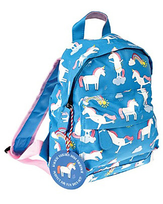 Rex London Mini Backpack 28 x 21 x 10 cm, Unicorn - Perfect for pre-schoolers! Small Backpacks