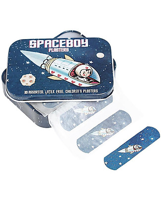 Rex London Plasters in Tin, Space Boy Plasters