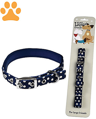 Rex London Polka Dots Dog Collar - Large Collar