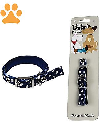 Rex London Polka Dots Dog Collar - Small Collar