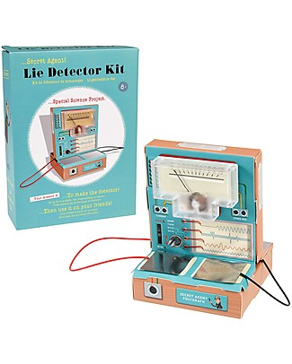 Rex London Secret Agent Lie Detector Kit - Try your hands at electronics and test family and friends Science and Nature
