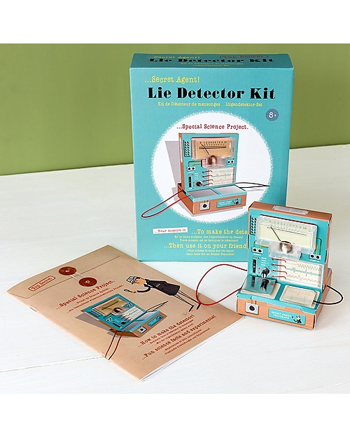 Rex London Secret Agent Lie Detector Kit - Try your hands at electronics and test family and friends STEM toys