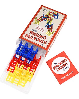 Rex London Stacking Chairs Game - Promotes Coordination and Manual Skills Traditional Toys