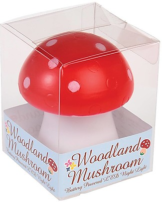 Rex London Toadstool Led Night Light Nightlights