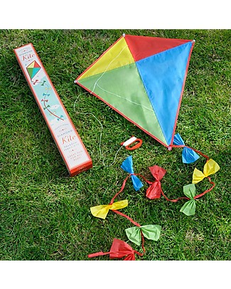Rex London Traditional Diamond Kite, 70 x 60 cm - Great gift idea! Outdoor Games & Toys