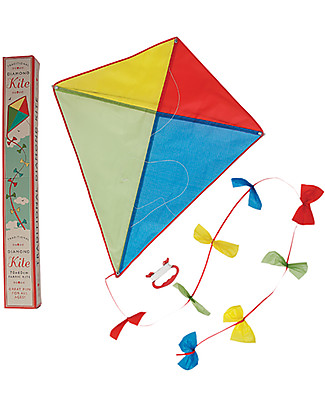 Rex London Traditional Diamond Kite, 70 x 60 cm - Great gift idea! Traditional Toys