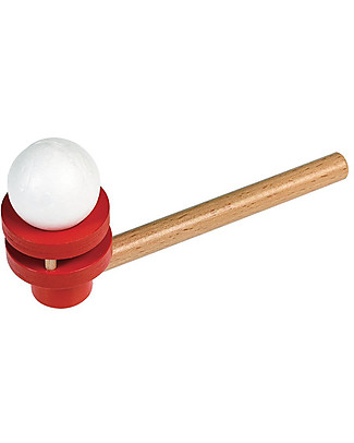 Rex London Traditional Floating Ball Game - Wooden pipe with 2 balls! Traditional Toys