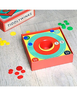 Rex London Traditional Tiddly Winks Game - Up to 4 players! Board Games