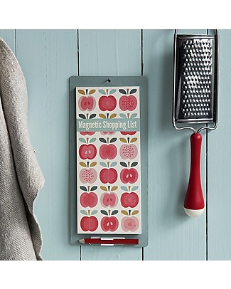 Rex London Vintage Apple Magnetic Shopping List Kitchen accessories