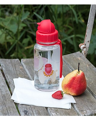 Rex London Water Bottle 500 ml, Llama - BPA-free! null