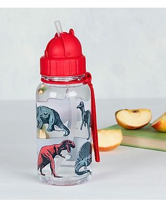 Rex London Water Bottle 500 ml, Prehistoric Land - BPA-free! null