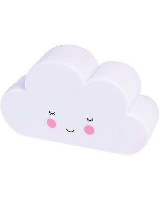 Rex London White Cloud Night Light - Batteries Included! Nightlights