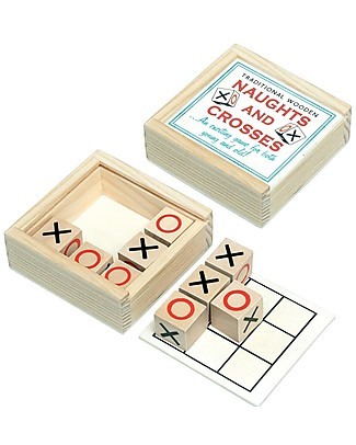 Rex London Wooden Box Traditional Naughts & Crosses – Great gift idea! Traditional Toys