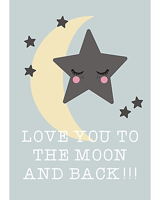 Rose in April Poster for the Nursery - Love Quote Shelves
