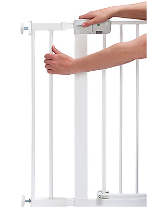 Safety 1st 14 cm Extension for Metal U-Pressure Easy-Close Safety Gate, White Safety Gates