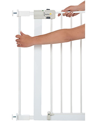 Safety 1st 7 cm Extension for Metal U-Pressure Easy-Close Safety Gate, White Safety Gates